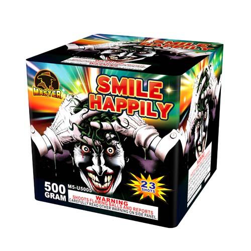 Glücklich lächeln, 23 Schüsse