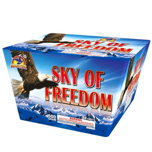 Sky of Freedom, 58 Shot